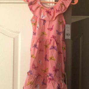 NWT 2T butterfly dress
